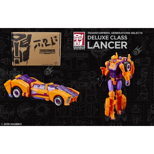 Autobot Lancer in stock Hasbro Transformers Generations Selects SIEGE Deluxe